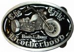 Trike Brotherhood Blood and Honor (black) Belt Buckle with display stand. Code SL4